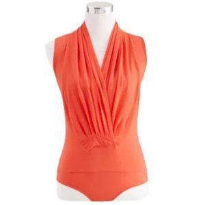 Eva Mendes for NY&Co Coral Mila Bodysuit NWT S